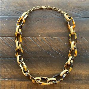 Chloe + Isabel Heirloom Tortoise Link Necklace